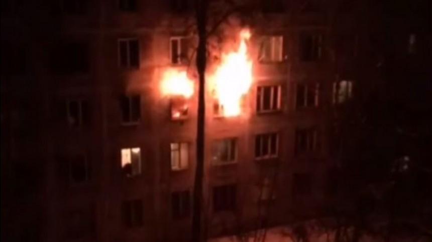 Четверо детей пострадали врезультате мощного пожара вПодмосковье