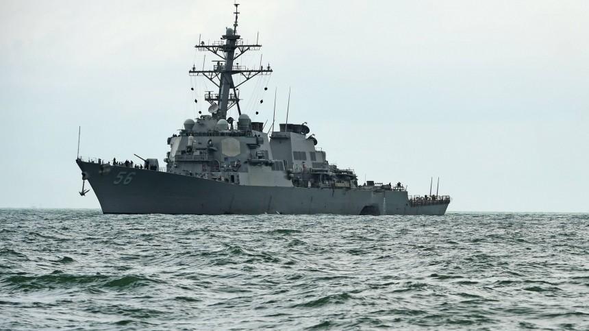 Американский эсминец «Джон Маккейн» нарушил границу России