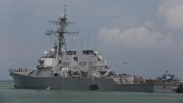 ВВМС США отрицают нарушение границ РФэсминцем «Джон Маккейн»