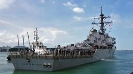 «Это неслучайность»: эксперт объяснил вторжение эсминца ВМС США вводы РФ
