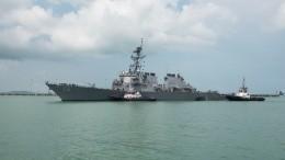 «Получили ответ»: Военный эксперт объяснил причины вторжения эсминца США вводы РФ
