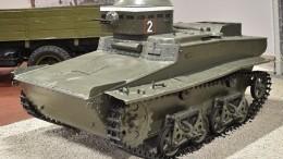 ВАрхангельской области восстанавливают легендарный плавающий танк Т-37А