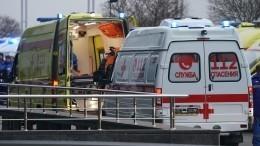 Видео: Автомобиль консульства Литвы сбил женщину напереходе вПетербурге