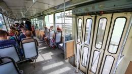 ВОдессе пассажирке трамвая пожелали смерти заразговор нарусском языке— видео