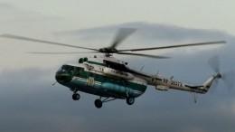 Ваэропорту Волгограда вертолет при посадке зацепился замачту освещения