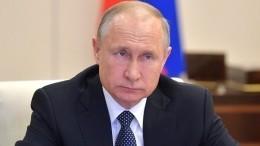Путин отложил визит вСаров из-за нелетной погоды