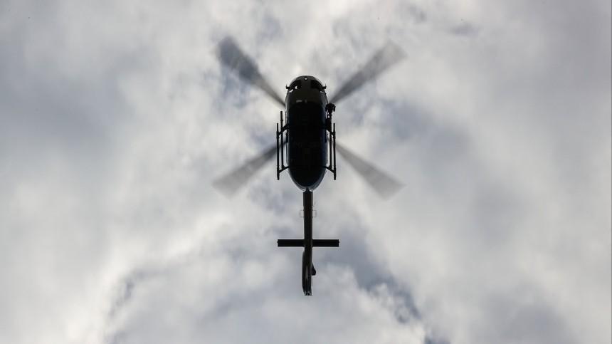 Опубликованы фото сместа столкновения вертолета сосветовой опорой вВолгограде