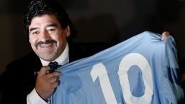 «Самый великий игрок»: тренер «Зенита» оДиего Марадоне