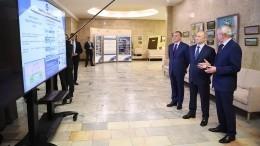 Путину доложили опредотвращении катастрофы вУсолье-Сибирском— видео