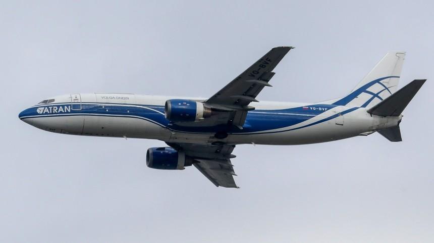 Грузовой самолет Норильск— Москва ушел навторой круг перед посадкой