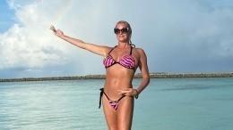 Волочкова «показала» жениха иподелилась лайфхаком сотдыха наМальдивах— видео
