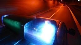 Опубликовано видео погони полицейских залихачем надорогой BMW вПетербурге