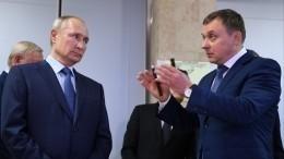 Путин осмотрел вСарове разработки Российского федерального ядерного центра