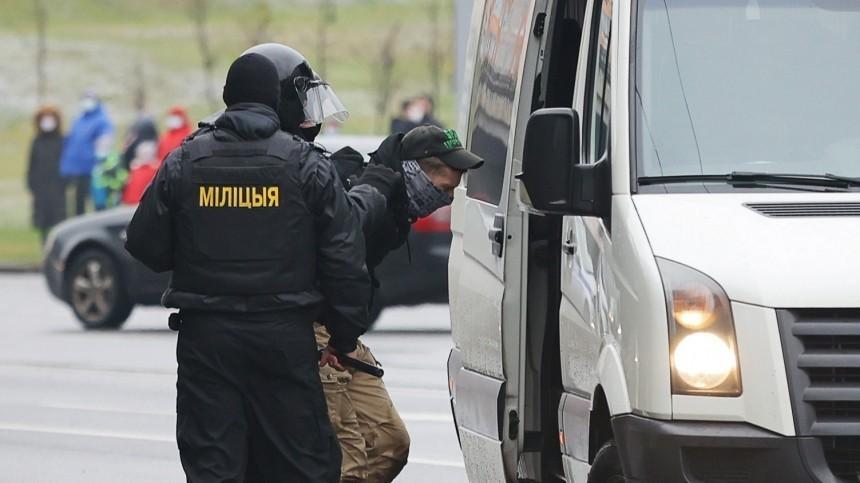 ВМинске начались задержания наакции протеста оппозиции