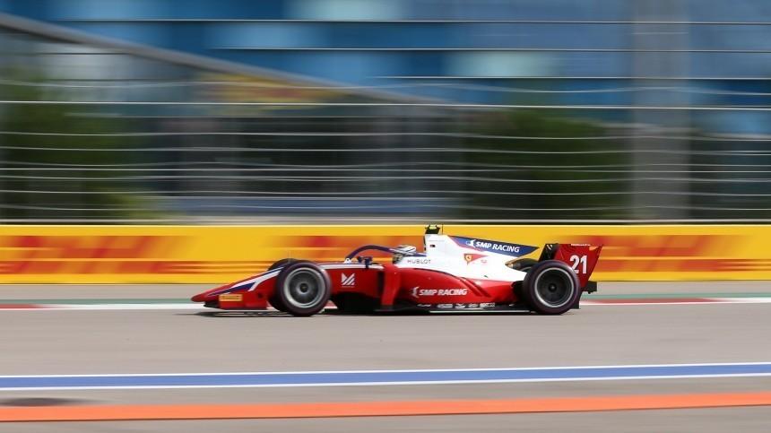 Глава РАФ поздравил российских гонщиков спобедой нагонке Формулы-2