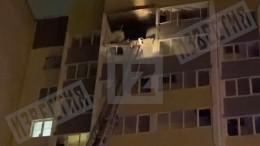 Фото изквартиры воВсеволожске, где взорвался газовый баллон