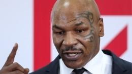 Тайсон признался вупотреблении наркотиков перед боем сДжонсом