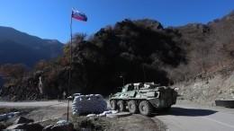 Российские военные разминировали дорогу вНагорном Карабахе