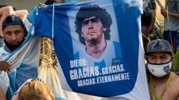 Фото недели: чудесное спасение на«Формуле-1» исмерть Диего Марадоны
