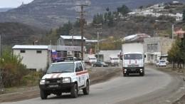 Армия Азербайджана вошла вЛачинский район