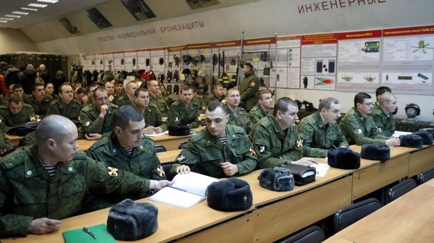Новый учебный год стартовал вроссийской армии