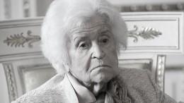 Президент музея имени Пушкина Ирина Антонова умерла на99-м году жизни