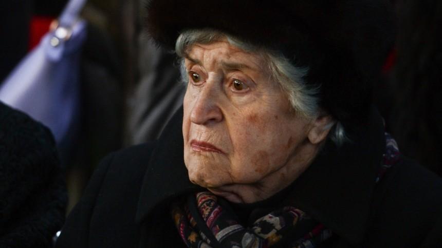 Названа причина смерти президента музея имени Пушкина Ирины Антоновой