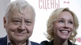 Марина Зудина призналась, что никогда нехотела быть женой Табакова
