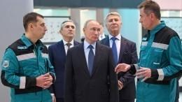 Унефтехимии России огромный потенциал роста— Путин