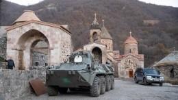 Россия иТурция договорились оконтроле запрекращением огня вКарабахе