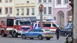 Четыре человека, втом числе ребенок, погибли после наезда машины внемецком Трире