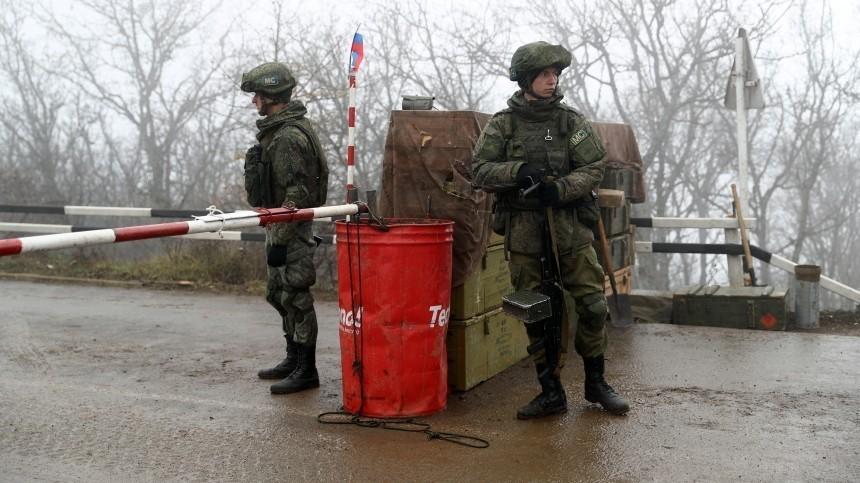 Глава Приднестровья ответил Санду натребование вывести российских миротворцев