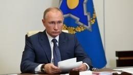 Россия готова поставлять вакцину откоронавируса иначать еепроизводство встранах ОДКБ