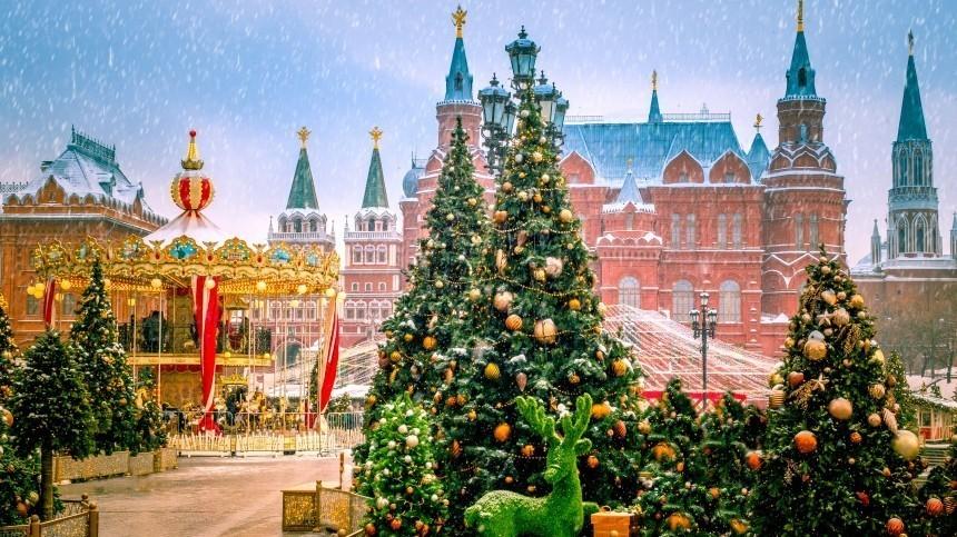 Названы города, куда россияне поедут отмечать Новый год