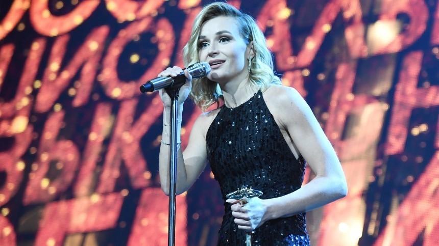 Полина Гагарина иВладимир Пресняков получили премию «Виктория» вКремле