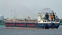 Сломался двигатель: сухогруз сел намель вКаспийском море