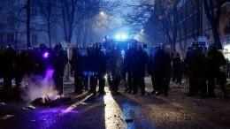 Засвободу слова: боевыми столкновениями отличилась акция протеста вПариже