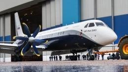Новый пассажирский самолет Ил-114-300 совершит первый вылет