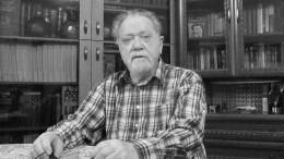 Умер один изкрупнейших историков русского средневековья Игорь Фроянов