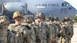 Американских военных наБлижнем Востоке привели вбоевую готовность