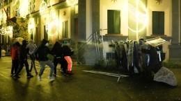 Полиция применила слезоточивый газ для разгона протестующих вАлбании
