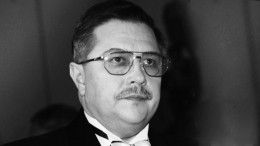 «Поразил своим мышлением»: диктор Кириллов обумершем «голосе Кремля» Хорошевцеве