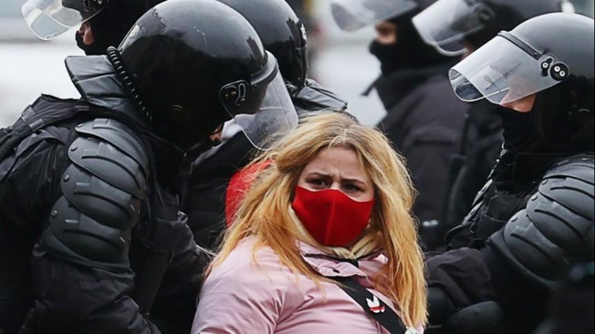 Наакциях протеста вБелоруссии задержаны более 100 человек