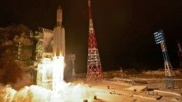 Скосмодрома Плесецк успешно запущена тяжелая ракета «Ангара-А5»