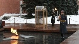 ВМоскве состоялась церемония переноса Вечного огня изРоссии вСербию