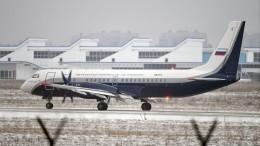 Региональный самолет Ил-114-300 совершил свой первый полет