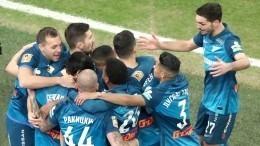 «Зенит» обыграл «Спартак» вматче 19-го тура РПЛ