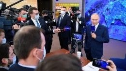 Какие вопросы начали решать вовремя пресс-конференции Владимира Путина