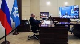Путин заявил оготовности оказывать помощь странам СНГ вборьбе сCOVID-19