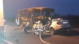 Автобус спризывниками попал всмертельное ДТП наКубани —фото